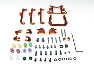 Front Double A-Arm Kit для Mini-Z AWD MA010