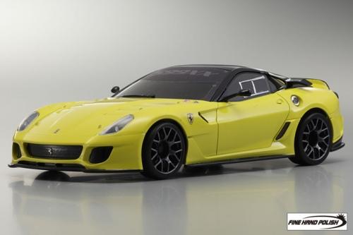 Ferrari 599XX Yellow (32812Y, 98 mm)