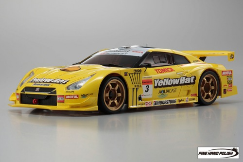 Nissan GT-R YellowHat YMS TOMICA 2008 (32801YH, 98 mm)