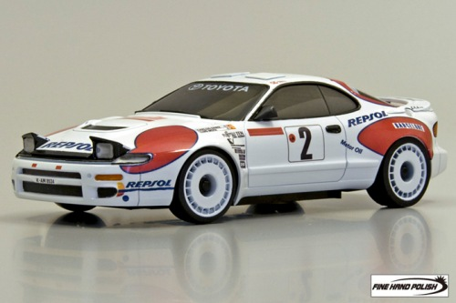 Toyota Celica GT-FOUR RC Carlos Sainz No2 WRC 1992 (30582CS, 90 mm)