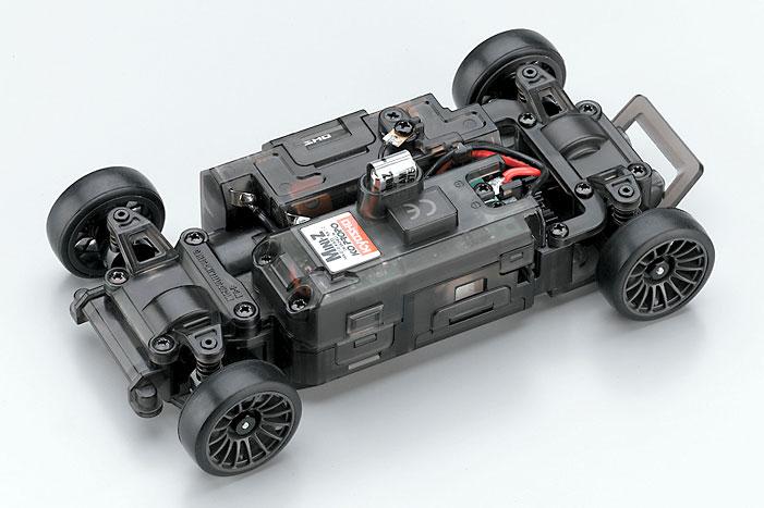 Шасси для радиоуправляемой машины