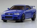 NISSAN SKYLINE GT-R V-SpecII Nur (R34) Metallic Blue