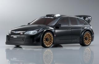 SUBARU Impreza WRX STI 2008 Black