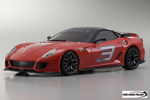 Ferrari 599XX Red (32812R, 98 mm)