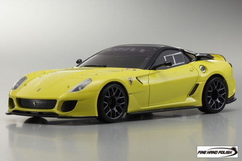 Ferrari 599XX Yellow (32812Y, 98 mm)