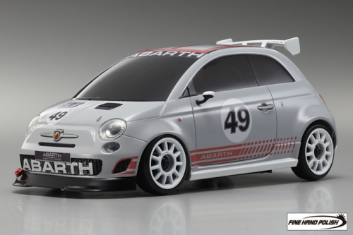 Fiat 500 ABARTH Assetto Corse Grey (32707GR, 90 mm)
