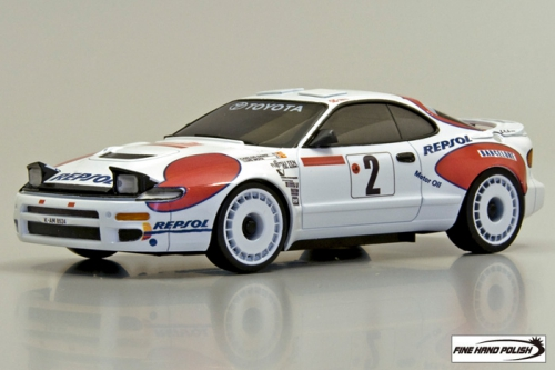Toyota Celica GT-FOUR RC Carlos Sainz No2 WRC 1992 (30582CS, 90 mm)