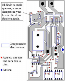Схема электроники Mini-Z