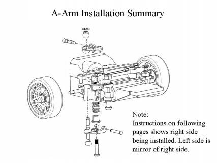 A-Arm PN Racing