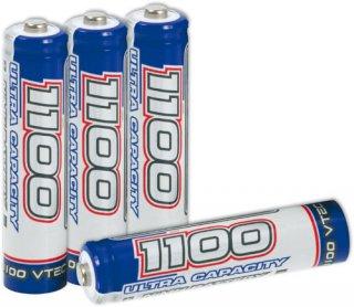 VTEC AAA 1100mAh Ultra Capacity 2 Micro NiMH battery