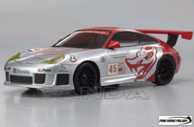 Porsche 911 GT3 RSR ALMS GT2 No45 Flying Lizard 2006