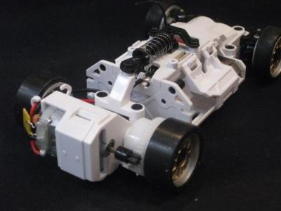Белый скелет для Mini-Z MR-03