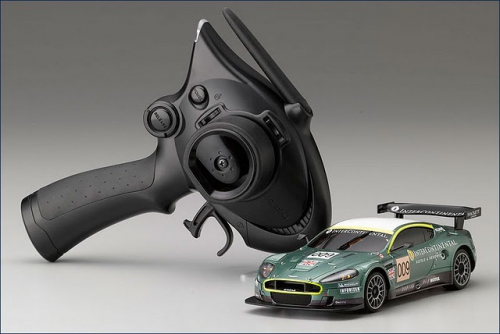Шасси MR-02EX-MM с кузовом Aston Martin DBR-9 №009 LM2007
