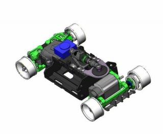 Концепция тюнинга для Mini-Z MR-03