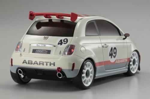 Fiat 500 ABARTH Assetto Corse Grey (MZP128IW, 90 mm)