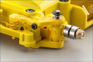 Жёлтое шасси Mini-Z Racer MR-03