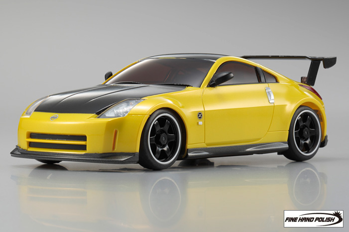 nissan_fairlady_z33_yellow_metallic